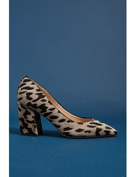 Sam Edelman Tatiana Leopard Heels by Sam Edelman