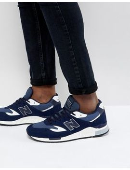 New Balance 840 Trainers In Navy Ml840 Ag by New Balance
