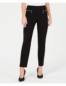 Juniors' Zip Pull On Pants by Bcx