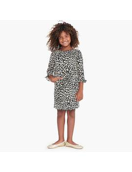 Girls' Leopard Print Dress by J.Crew