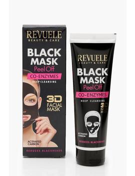 Co Enzymes Deep Cleansing Black Mask Peel Off by Boohoo