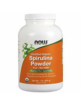 Now Organic Spirulina Powder,1 Pound by Now Foods