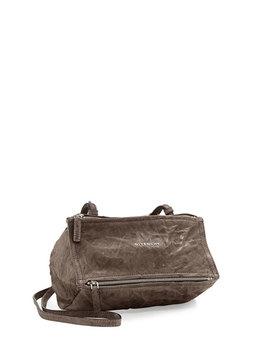Pandora Mini Pepe Crossbody Bag, Charcoal by Givenchy