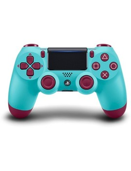 Dual Shock 4 Wireless Controller For Play Station 4   Berry Blue by Play Station 4 (Ps4)