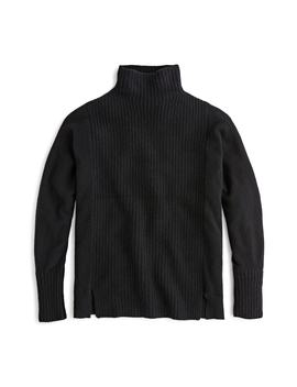 Mock Neck Cashmere Sweater by J.Crew