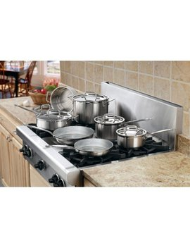 Cuisinart Multi Clad Pro 12 Pc. Stainless Steel Cookware Set by Cuisinart