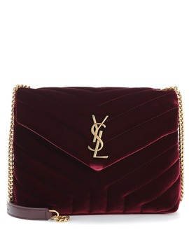 Schultertasche Small Loulou Monogram by Saint Laurent
