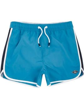 Boys Blue Runner Swim Shorts by River Island
