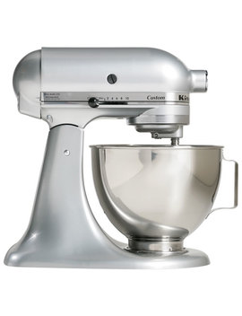 Kitchen Aid Custom Stand Mixer   4.5 Qt   325 Watt   Metallic Chrome by Kitchenaid