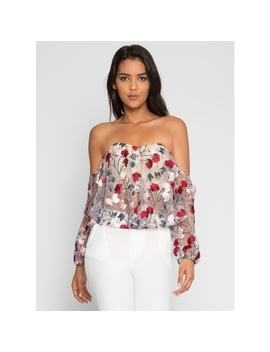 Celebration Floral Blouse by Wet Seal