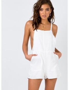 Lunaria Playsuit by Princess Polly
