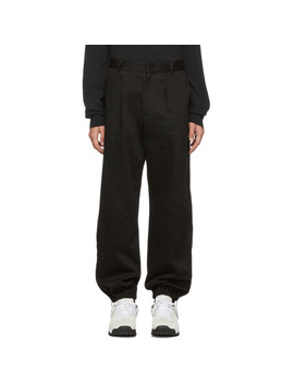 Black Japanese Combat Trousers by Givenchy