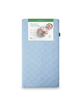 Newton Baby Crib Mattress And Toddler Bed | 100 Percents Breathable Proven To Reduce Suffocation Risk, 100 Percents Washable, Hypoallergenic, Non Toxic, Better Than Organic   Sky Blue by Newton