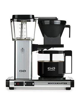 Technivorm Moccamaster 59616 Kbg Coffee Brewer, 40 Oz, Polished Silver by Technivorm Moccamaster