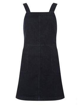 Indigo Square Neck Pinafore Dress by Dorothy Perkins