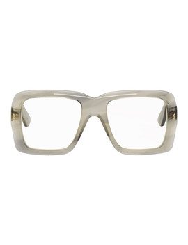 Grey Bold Glasses by Gucci
