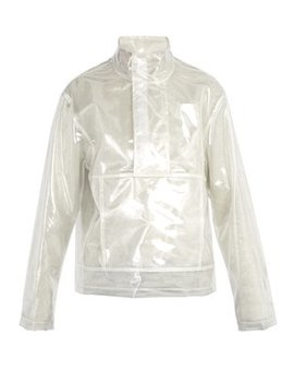 Clear Pocket Pullover by Helmut Lang