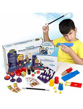 Learn & Climb Beginners Magic Kit Set For Kids   Exciting Magician Tricks, Manual + Instruction Dvd by Learn & Climb