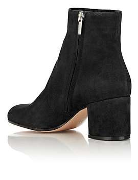 Razor Suede Ankle Boots by Gianvito Rossi