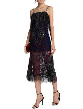 Corded Lace Midi Dress by Jonathan Simkhai