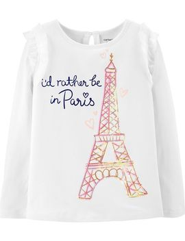 Eiffel Tower Tulle Tee by Carter's