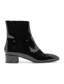 Naomi Patent Leather Ankle Boots by Aeydē