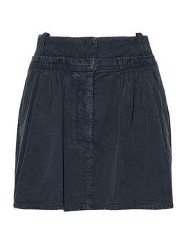 Gathered Cotton Canvas Mini Skirt by J.W.Anderson