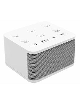 Big Red Rooster White Noise Machine   Sound Machine For Sleeping & Relaxation   6 Natural And Soothing Sounds   Plug In Or Battery Powered  ... by Big Red Rooster