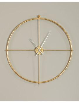 Hannah Clock by Neiman Marcus
