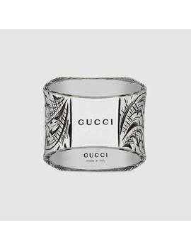 Bague Lettre «&Nbsp;E&Nbsp;» En Argent by Gucci