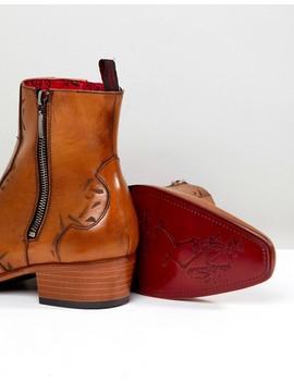 Jeffery West Carlito Chelsea Boots In Tan by Jeffery West