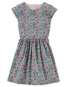 Floral Jersey Dress by Carter's