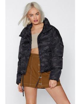 Camo Jacket by Nasty Gal