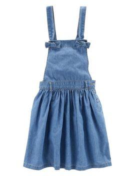 Denim Overall Dress by Carter's