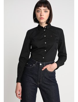 Slim Fit Poplin   Skjortebluser by Tommy Jeans
