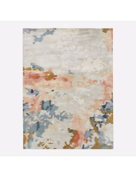 Flame Rug, Multi, 8'x10' by West Elm