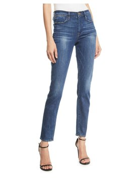 Le High Skinny Stretch Ankle Jeans by Frame