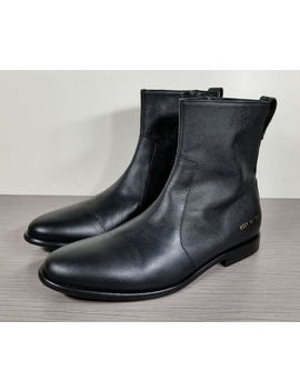 Common Projects X Robert Geller Chelsea Boot, Black Leather, Mens Size 8 / 41 by Common Projects X Robert Geller