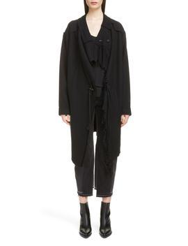 Fringe Knit Jacket by Y's By Yohji Yamamoto