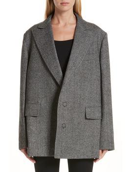 Slit Sleeve Wool Jacket by Junya Watanabe