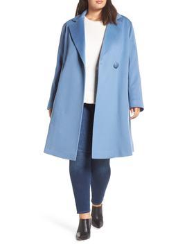 Loro Piana Wool One Button Coat by Fleurette