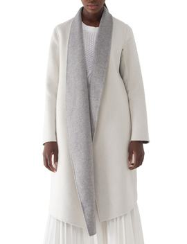 Gloria Colorblock Double Faced Coat by Sosken
