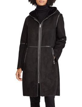 Faux Shearling Duffle Coat by Lauren Ralph Lauren