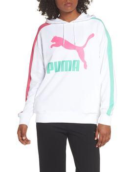 Classics T7 Logo Hoodie Sweatshirt by Puma