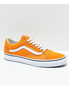 Vans Old Skool Cheddar & White Skate Shoes by Vans