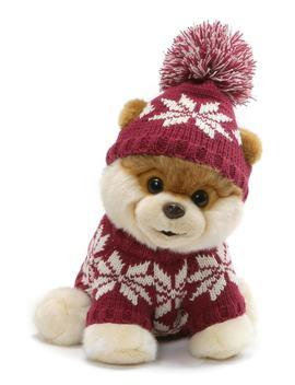 Boo   Fair Isle Sweater Stuffed Animal by Gund