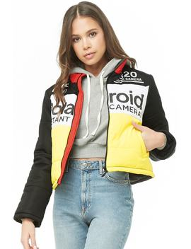 Polaroid Colorblock Jacket by Forever 21