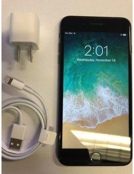 Apple I Phone 7 Plus   128 Gb   Black (At&T) Mn8 L2 Ll/A (Gsm) by Apple