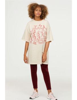 T Shirt Oversize Imprimé by H&M