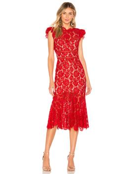 Maude Midi Dress by Saylor